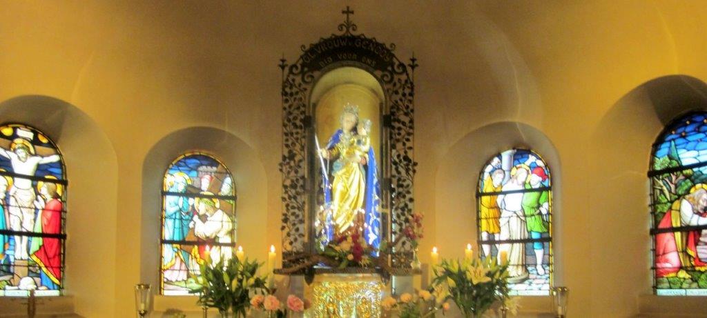 Mooie zang in kapel Genooi