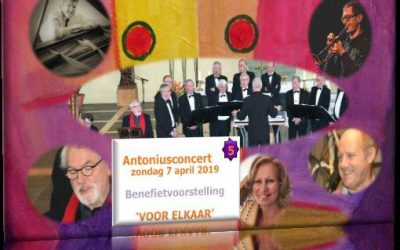Antonius-concert op 7 april 2019
